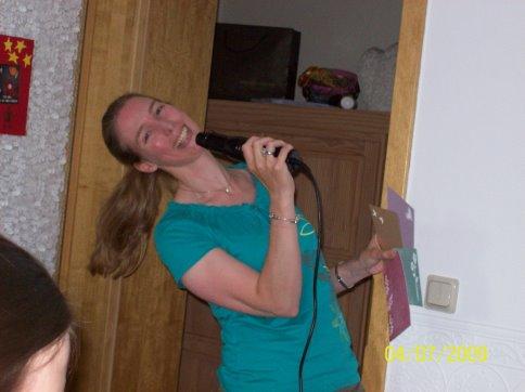 Andrea-als-sangerin